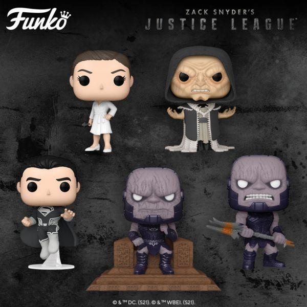 """""""Liga Sprawiedliwości Zacka Snydera"""" zyskała przychylność fanów, dlatego na figurki nie trzeba było długo czekać!"""