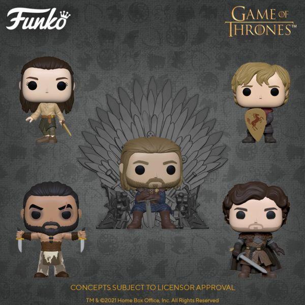 """Świętuj 10. rocznicę """"Gry o tron"""" wraz z nowymi figurkami!"""