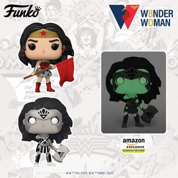 Nadciągają kolejne figurki niezwyciężonej bohaterki Wonder Woman!