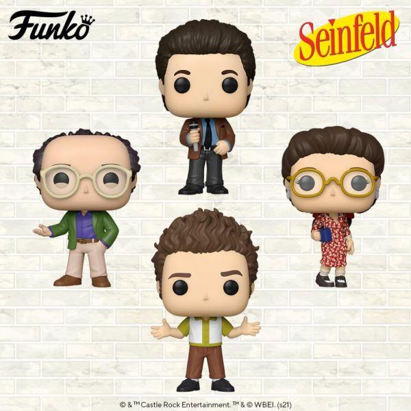 """Amerykański sitcom """"Kroniki Seinfelda"""" z bogatą linią świetnych figurek!"""