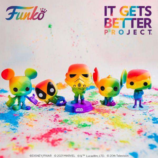 Tęczowe figurki pod logiem Pride powracają z przytupem!