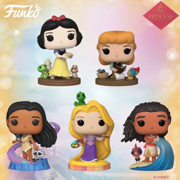 Nadciąga druga fala nowych figurek księżniczek Disneya!