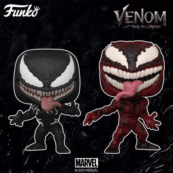 """Venom i Carnage otrzymają nowe figurki z okazji nadchodzącej premiery filmu """"Venom: Let There Be Carnage""""!"""