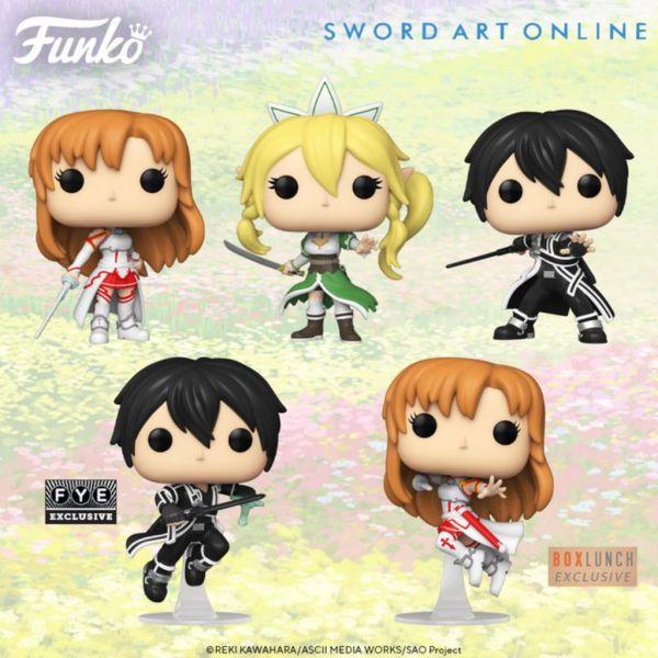 """Funko ponownie stworzy zupełnie nowe figurki z """"Sword Art Online""""!"""