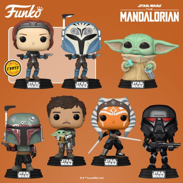 """Wspaniałych figurek z serii """" The Mandalorian"""" nigdy za wiele!"""