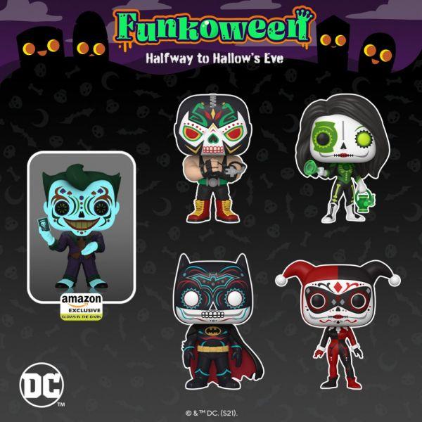 Bohaterowie DC w stylu meksykańskiego Święta Zmarłych w nowościach od Funko!