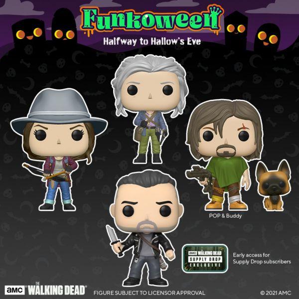 """W klimat Halloween doskonale wpisują się figurki z """"The Walking Dead""""?"""