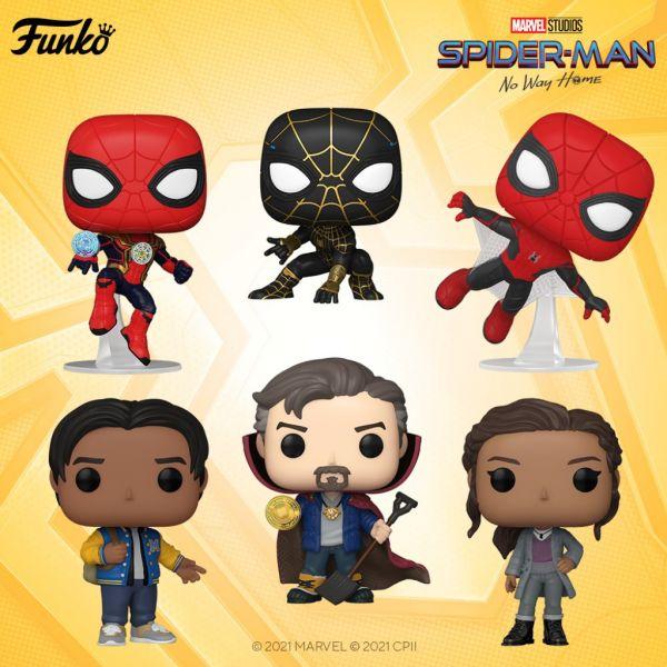 """""""Spider-Man No Way Home"""" ukaże się dopiero w grudniu, a my już dziś możemy zobaczyć pierwsze figurki!"""