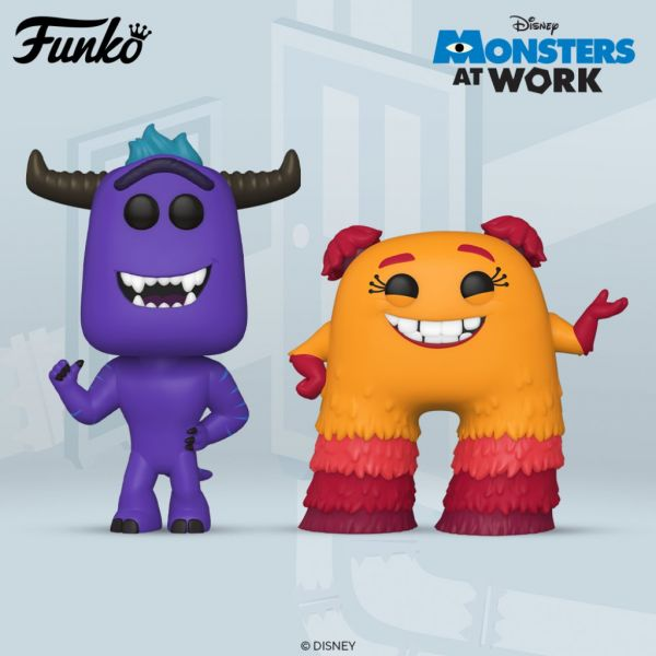 """""""Monsters At Work"""", czyli wielki powrót uniwersum """"Potwory i spółka"""". Nadciągają świetne figurki!"""