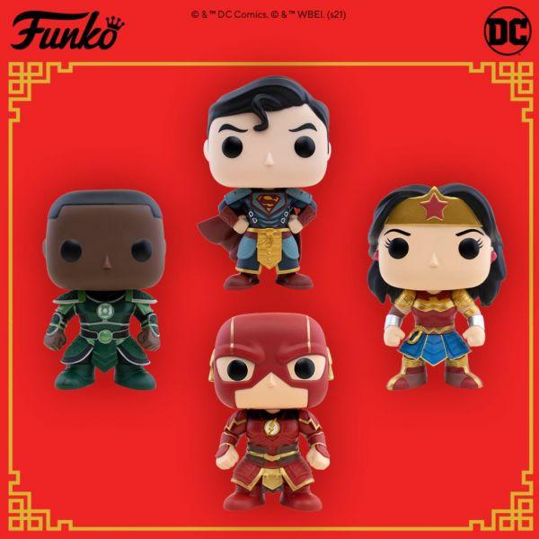 Crossover DC z chińskim Pałacem Cesarskim przyniósł kolejną porcję POP!ów!