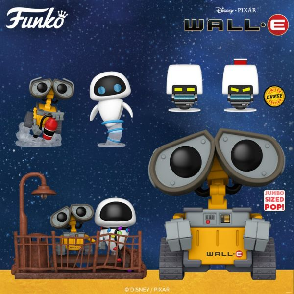 """Niebawem zobaczymy nowe figurki z przepięknej animacji """"WALL-E"""""""