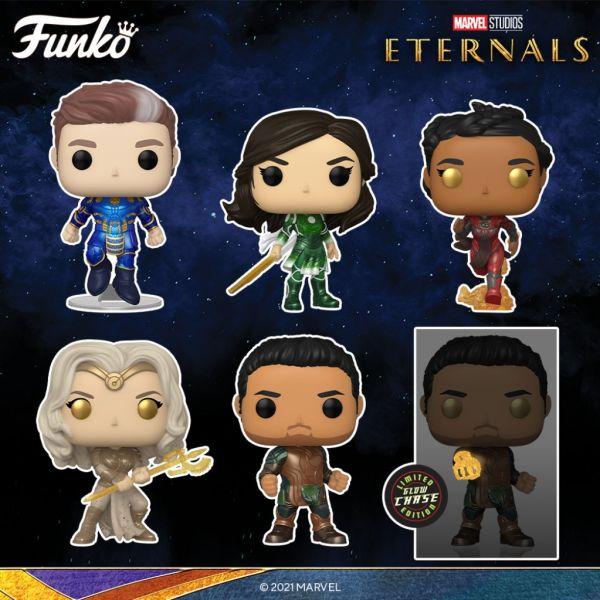 """""""Eternals"""" jeszcze w tym roku pojawi się w kinach, a Funko dostarczy pokaźną ilość figurek!"""