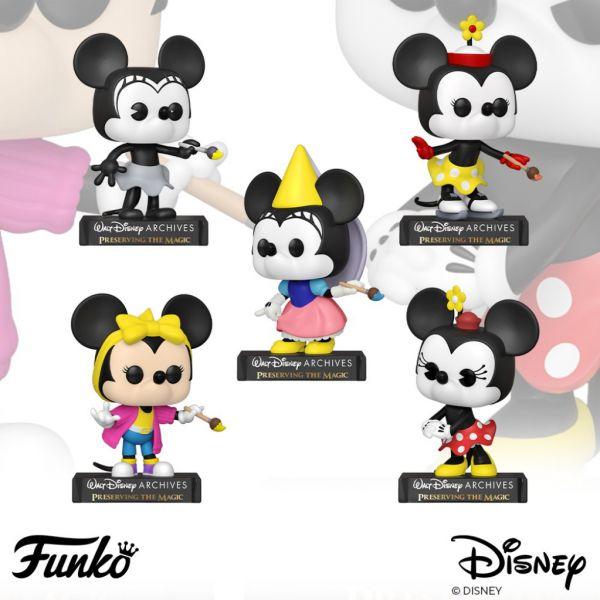 Gratka dla fanów Disneya - ewolucja Myszki Minnie w stylu Funko!