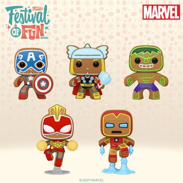 Dzięki Funko bohaterowie Marvela zamienili się w pierniczki!