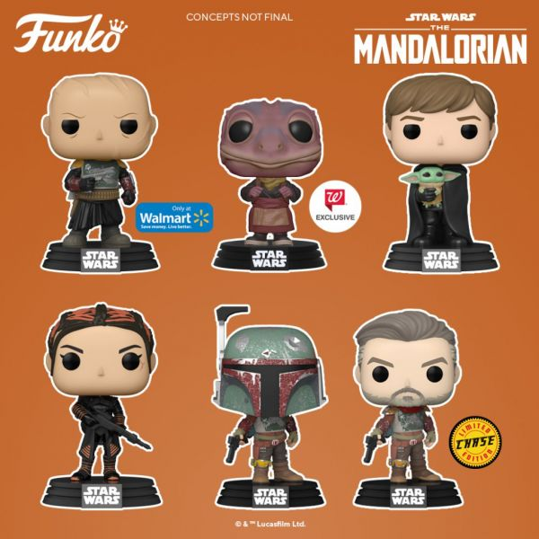 "Kolejne figurki z serii ""The Mandalorian"" już niebawem!"