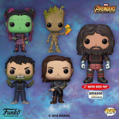 Zapowiedziano drugą falę figurek z serii Infinity War