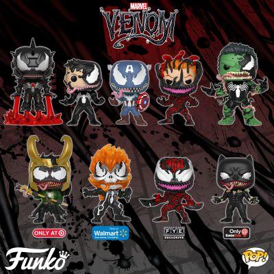 Symbioty atakują. Kapitalna linia Funko Venom!