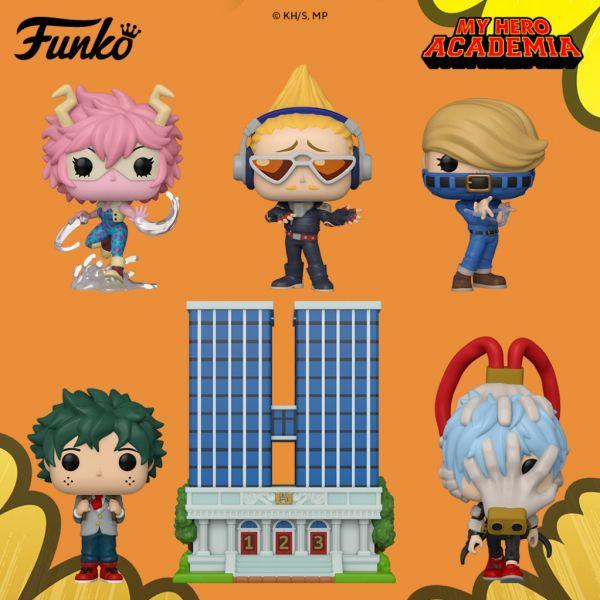 """Anime """"My Hero Academia"""" dostanie nowy zastrzyk figurek od Funko"""