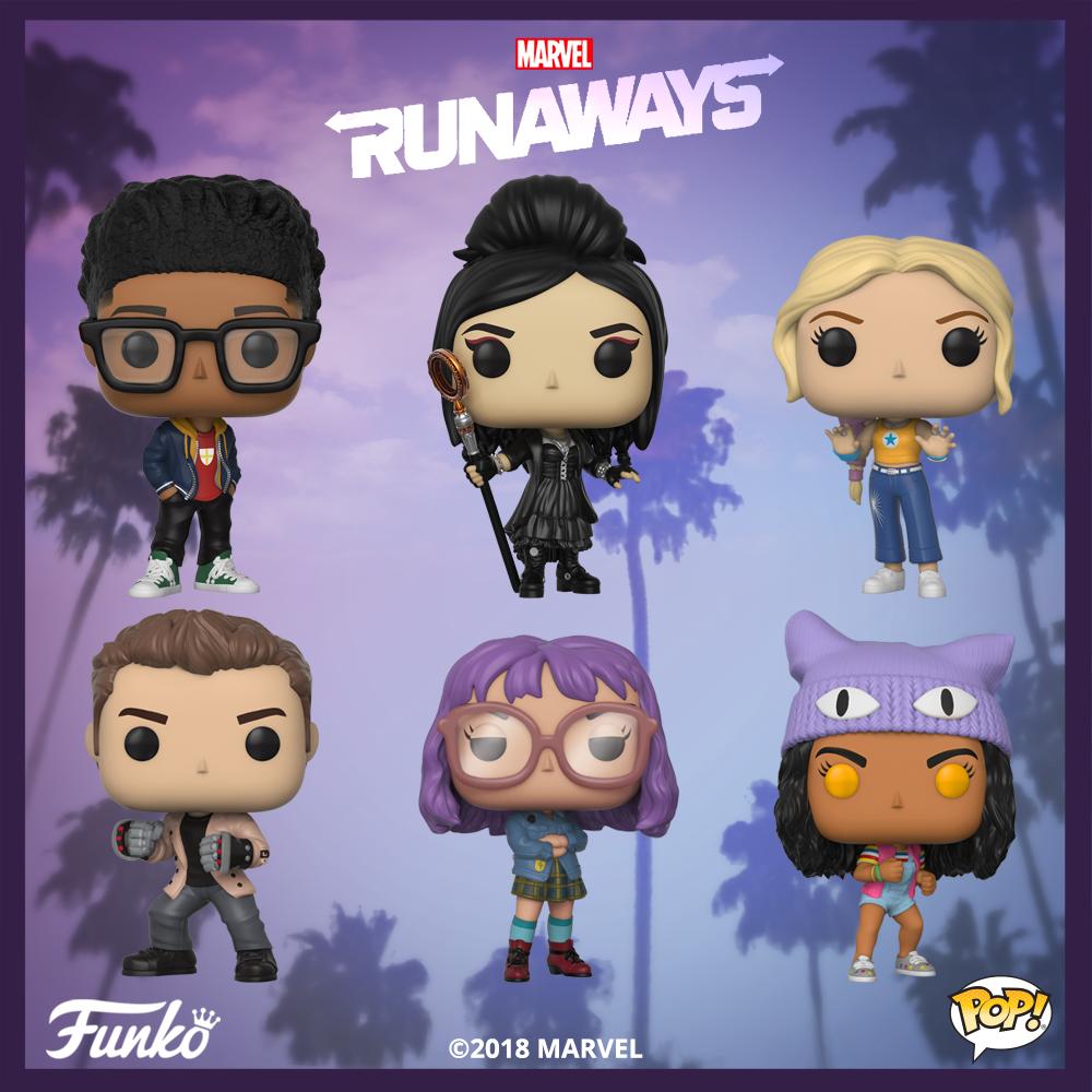 Runaways otrzyma linię figurek Pop! Vinyl od Funko