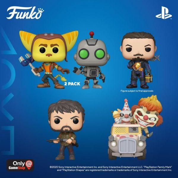 Kolejne figurki z rozwijającej sięwspółpracy Funko i PlayStation!