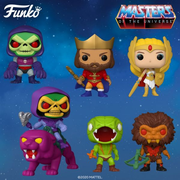 "Linia ""Retro Toys"" poszerza się o figurki z serii ""Masters of the Universe""!"
