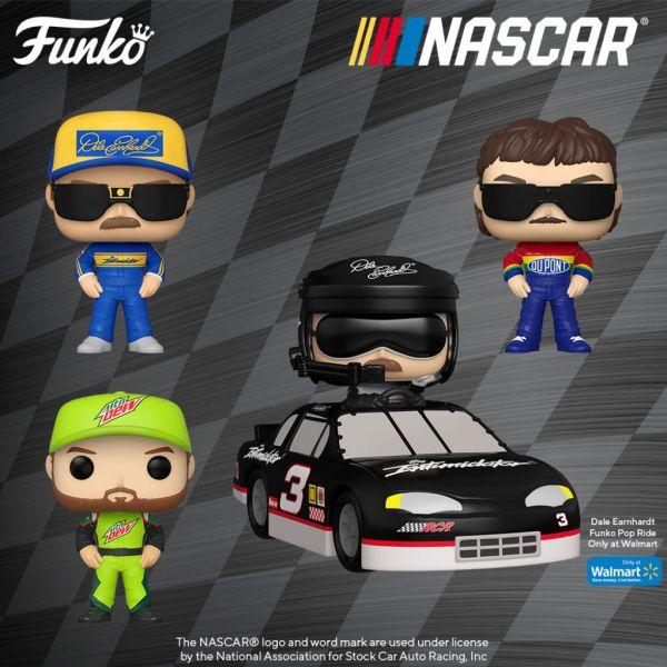 Funko zdecydowanie uwielbia wyścigi samochodowe NASCAR!