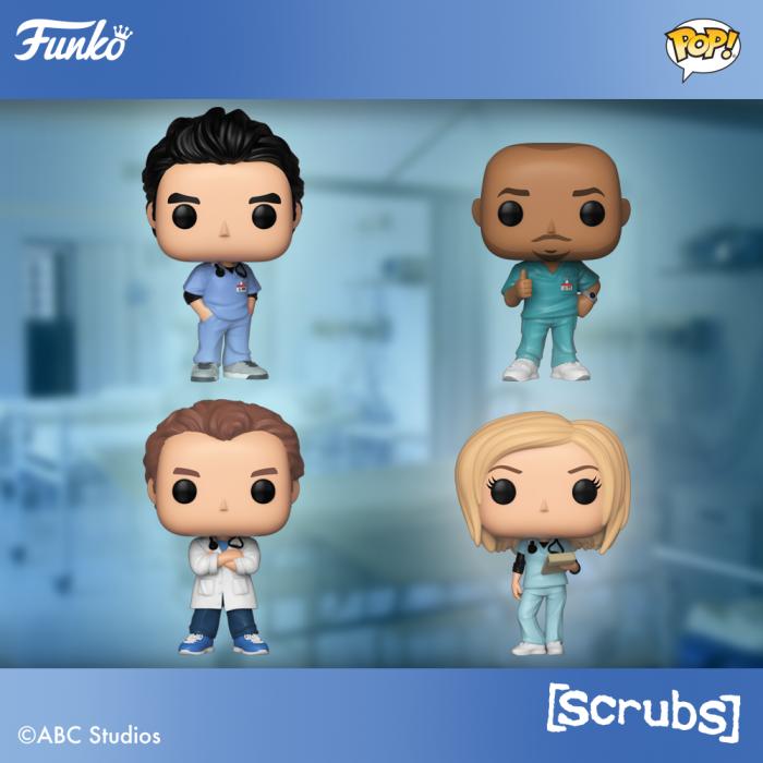 Hoży doktorzy (Scrubs) z swoją szaloną wersją figurek
