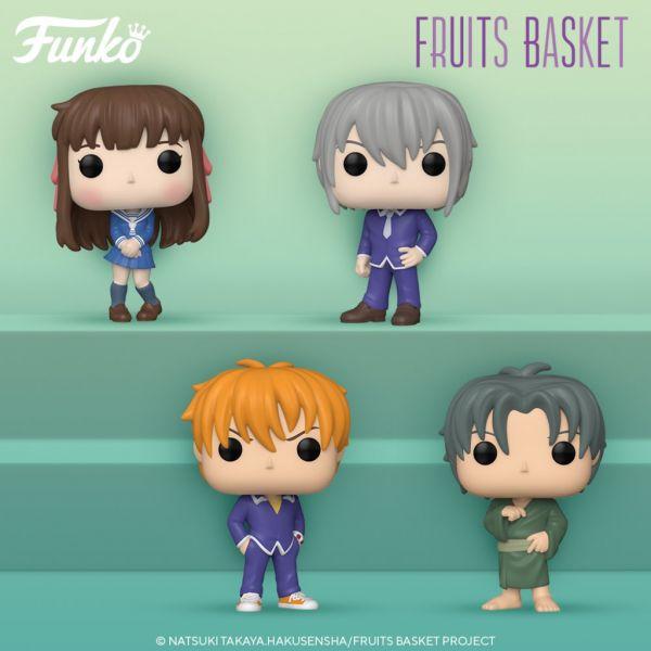 """Niepowtarzalne anime """"Fruits Basket"""" otrzyma linię figurek POP! Funko"""