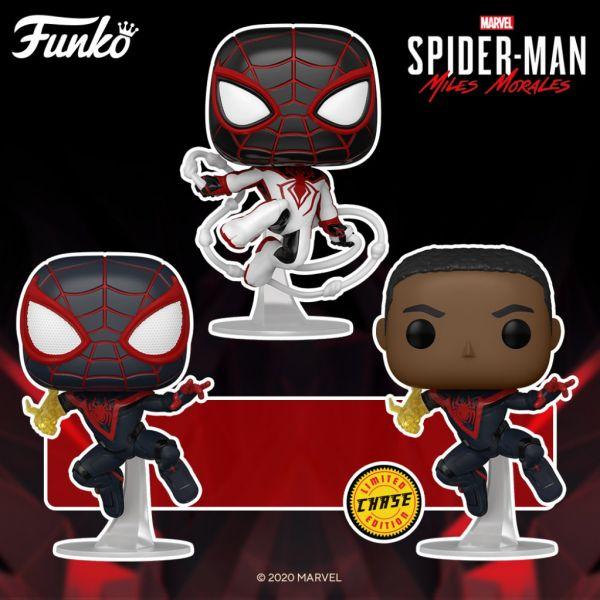 """Funko zachwyca figurkami z gry """"Spider-Man: Miles Morales"""" na PS5"""