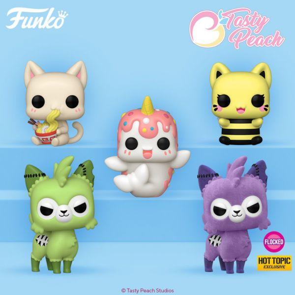 Funko wykona pięć modeli Tasty Peach Studios w formie figurek!