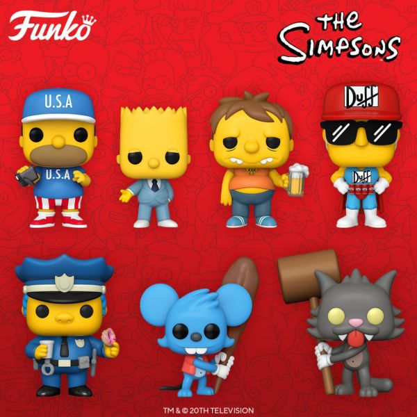 """""""Simpsonowie"""" opanowują siedzibę Funko w zawrotnym tempie"""