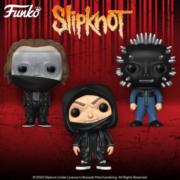 """Slipknot, Willie Nelson oraz Logic w nowościach z serii figurek """"Rock""""!"""
