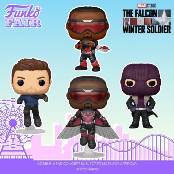 """Figurki z serialu """"Falcon i Zimowy Żołnierz"""" zapowiadająsię bardzo ciekawie"""