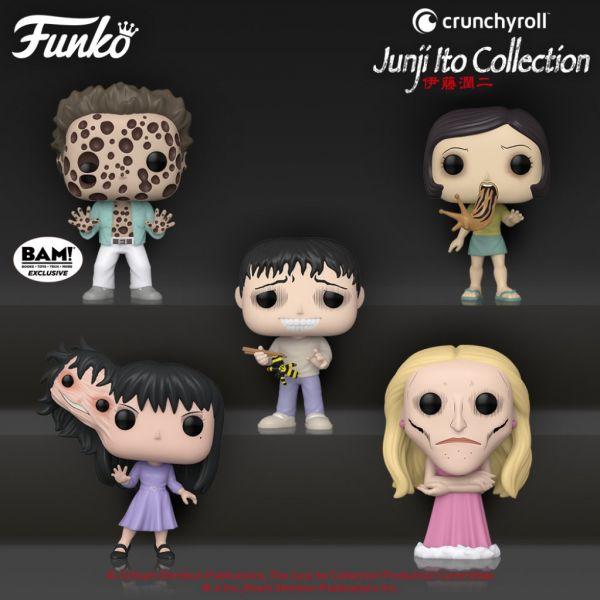 Junji Ito tworzy przerażające postacie, a Funko robi równie straszne figurki!