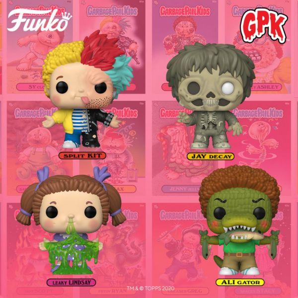 """Czy """"Garbage Pail Kids"""" jako figurki POP! Vinyl podbiją Wasze serca?"""