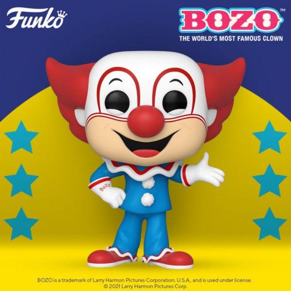 Najzabawniejszy klaun Bozo może dołączyć do Waszych kolekcji!