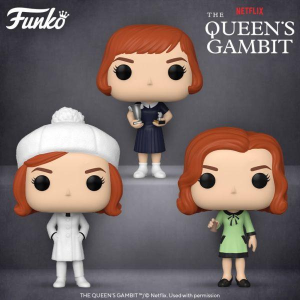 """Najnowszy hit Netflixa """"Gambit królowej"""" z fantastyczną linią figurek!"""