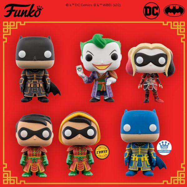 Funko sprawiło, że postacie ze świata DC odwiedzają pałac cesarski w Chinach!