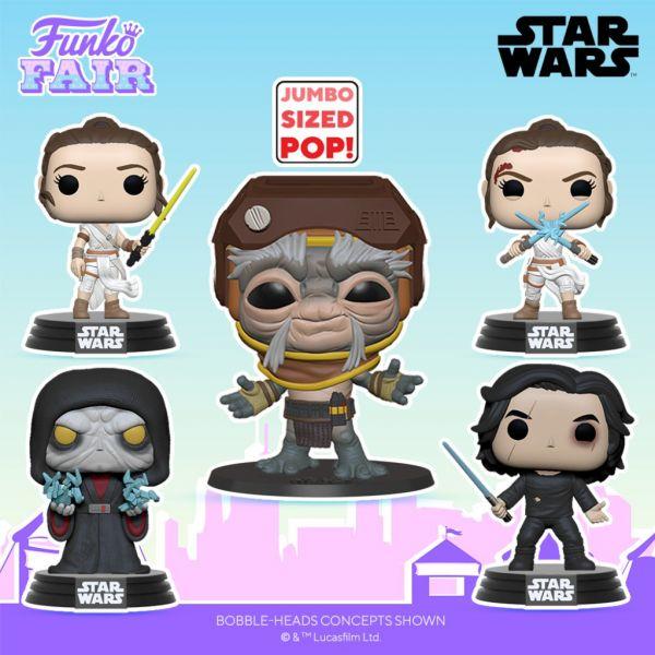 """W końcu doczekaliśmy się genialnych POP!ów z """"Gwiezdnych Wojen: Skywalker. Odrodzenie""""!"""