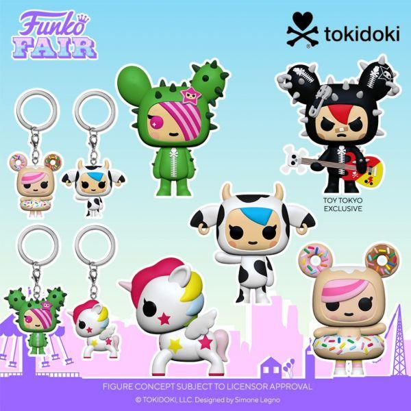 Znacie Tokidoki? Funko wyprodukuje kilka ciekawych figurek inspirowanych tą marką!