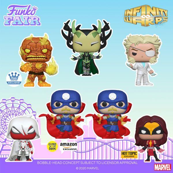 """Niektóre postacie z komiksów """"Infinity Warps"""" otrzymają epickie figurki!"""
