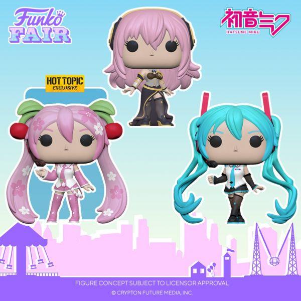 Hatsune Miku oraz Megurine Luka w najnowszych zapowiedziach Funko!