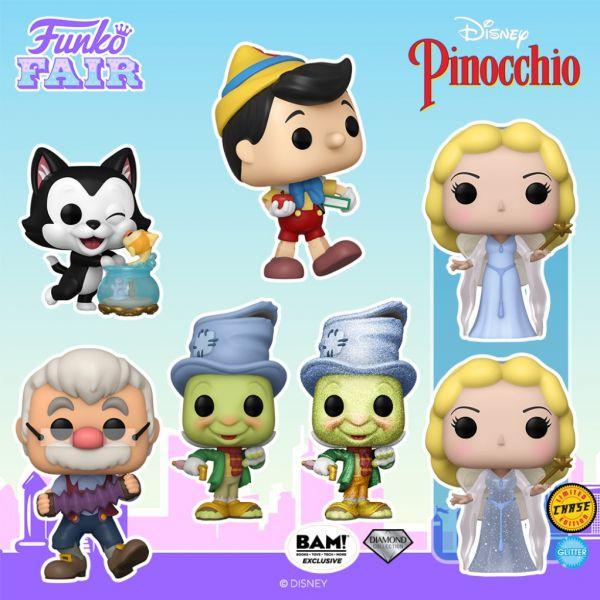 Pinokio pragnie spotkać wszystkich członków Waszych kolekcji!