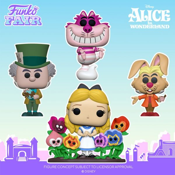 Wskocz do króliczej norki i dodaj do kolekcji figurkę Alicji oraz innych postaci z Krainy Czarów!