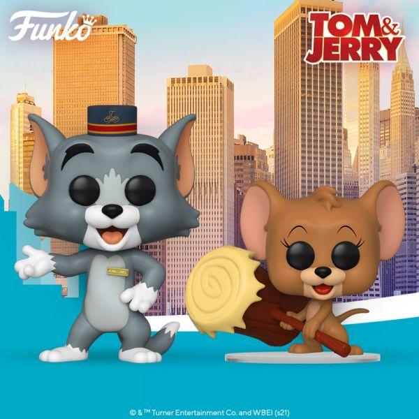 Zabawa w kotka i myszkę nadal trwa! Tom i Jerry powracają na wielki ekran oraz w formie figurek!