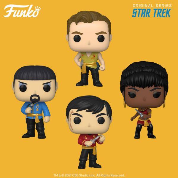 """Wyrusz w kosmiczną przygodę wraz z ekipą """"Star Treka"""" i ich nowymi figurkami!"""