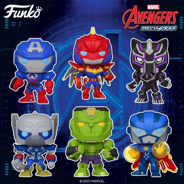 Nadchodzi fala fantastycznych figurek z komiksów Avengers Mech Strike!