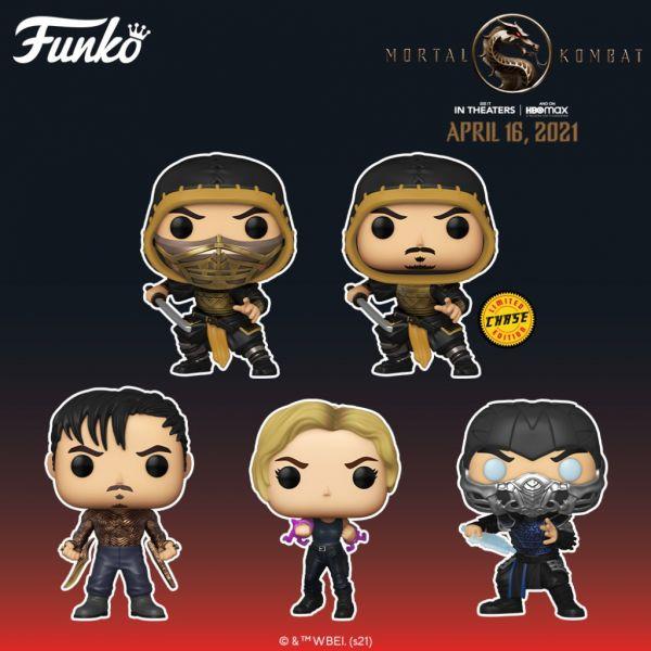 """W kwietniu zobaczymy nowy film """"Mortal Kombat"""", a czadowe figurki prawdopodobnie pojawią się latem!"""