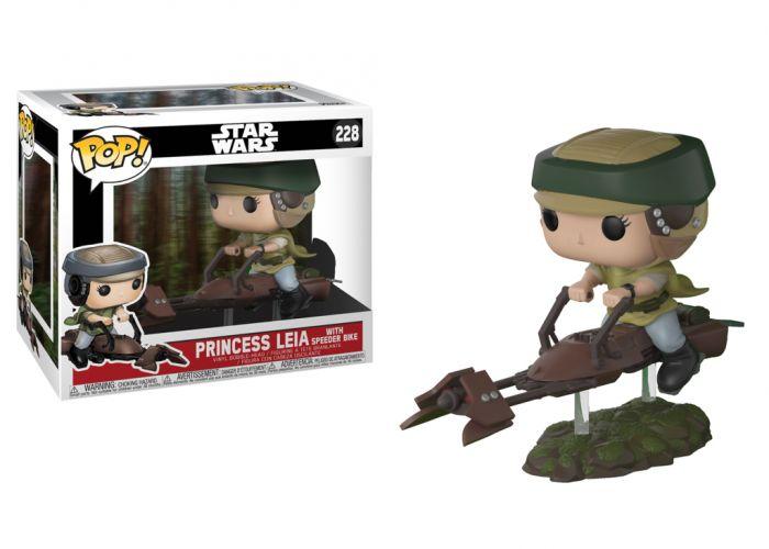Gwiezdne Wojny - Leia na skuterze
