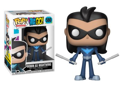 Młodzi Tytani: Akcja! - Robin jako Nightwing